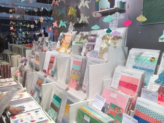 Stand Adeline Klam sur Le Printemps du DIY à la Foire de Paris - crédit photo : l'atelier lutece